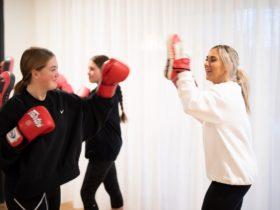 boxing class wellness retreat