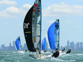 Sail Melbourne 49erFX
