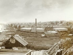 John Henry Harvey, Woollen Mill, Ballarat