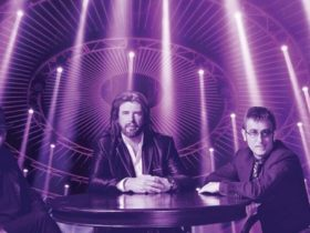 Bee Gees on stage