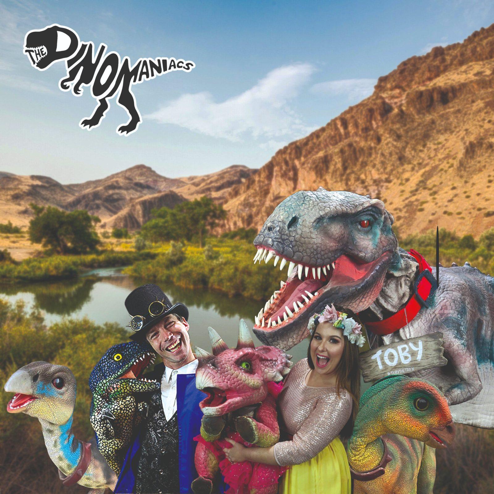 The Dinomaniacs - a family dinosaur adventure