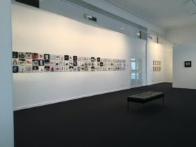 Interior view of Gallery space and Tony Griffin's exhibition