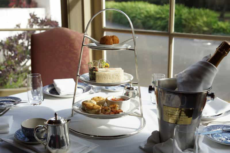 Traditional High Tea at Chateau Yering Hotel