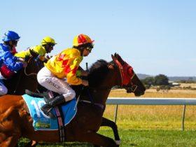 jockey's riding in Woolamai Races
