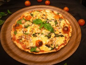 Chicken Camembert Pizza