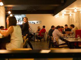 Bar Saracen interior