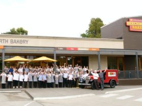 Beechworth Bakery Healesville staff welcome you