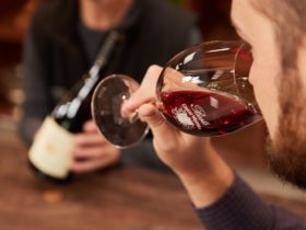 The nose (smell) of a wine is the first step in a wine tasting