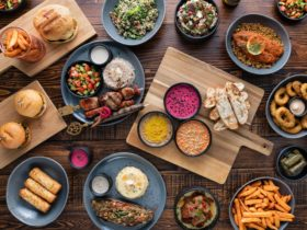 A wide range of colorful dishes at dukkah
