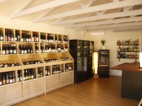 Grampians Wine Cellar - inside view