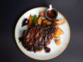 Shaws Rib Eye is grass fed and sourced from their own farm in Boisdale, Victoria