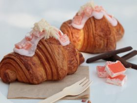 Turkish Delight Croissants