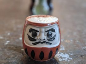 Daruma Mug Chai Latte