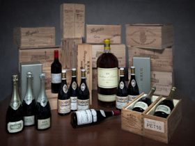 A selection of the types of premium wines available at MW