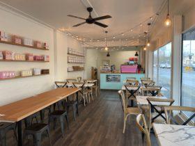 Refuel Hub interior dining and register