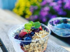 Rustik Cafe Muesli Breakfast