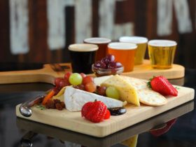 beer tasting cheese platter