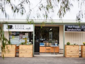 The Book Nook Cafe at Schoolworks Supplies