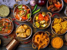 The Rasoi Tandoori Indian Kitchen variety of menu items on display