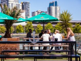 the wharf riverside tables