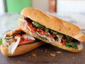 Vietnamese Banh Mi roll
