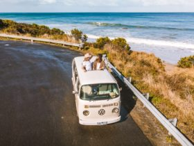 Cruise the iconic Great Ocean Road and enjoy this automatic kombi called Harriett.