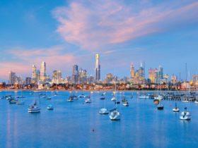 City Skyline from Port Phillip Bay