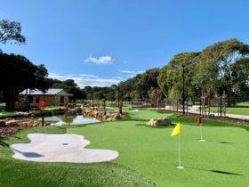 Collier Park Mini Golf, Como, Western Australia