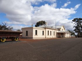 Historic Coolgardie Railway Station, Coolgardie, Western Australia
