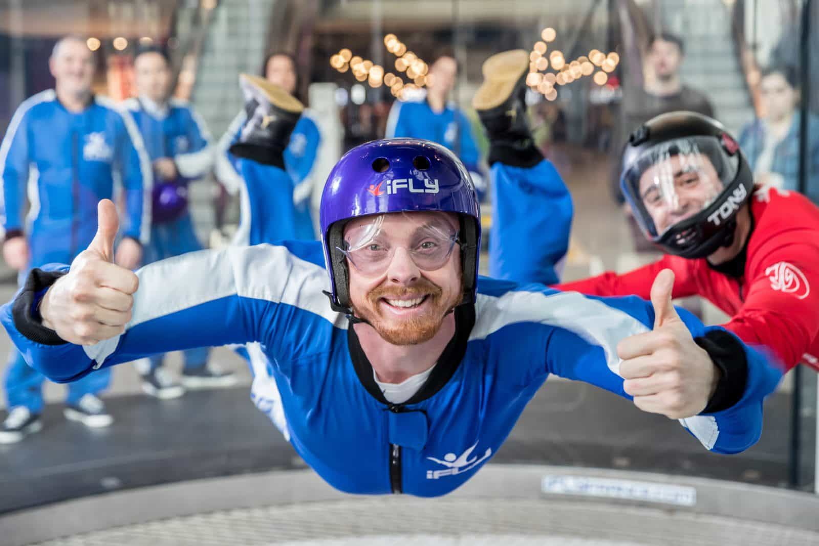 iFLY Perth Indoor Skydiving, Rivervale, Western Australia