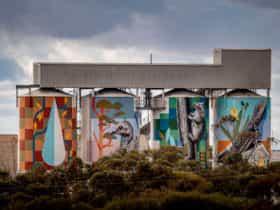 PUBLIC Silo Newdegate, Western Australia