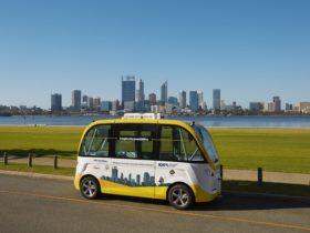 RAC Intellibus - Driverless Vehicle Trial, South Perth, Western Australia