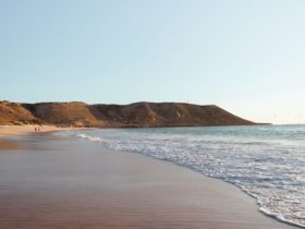 Red Bluff at Quobba Station, Western Australia
