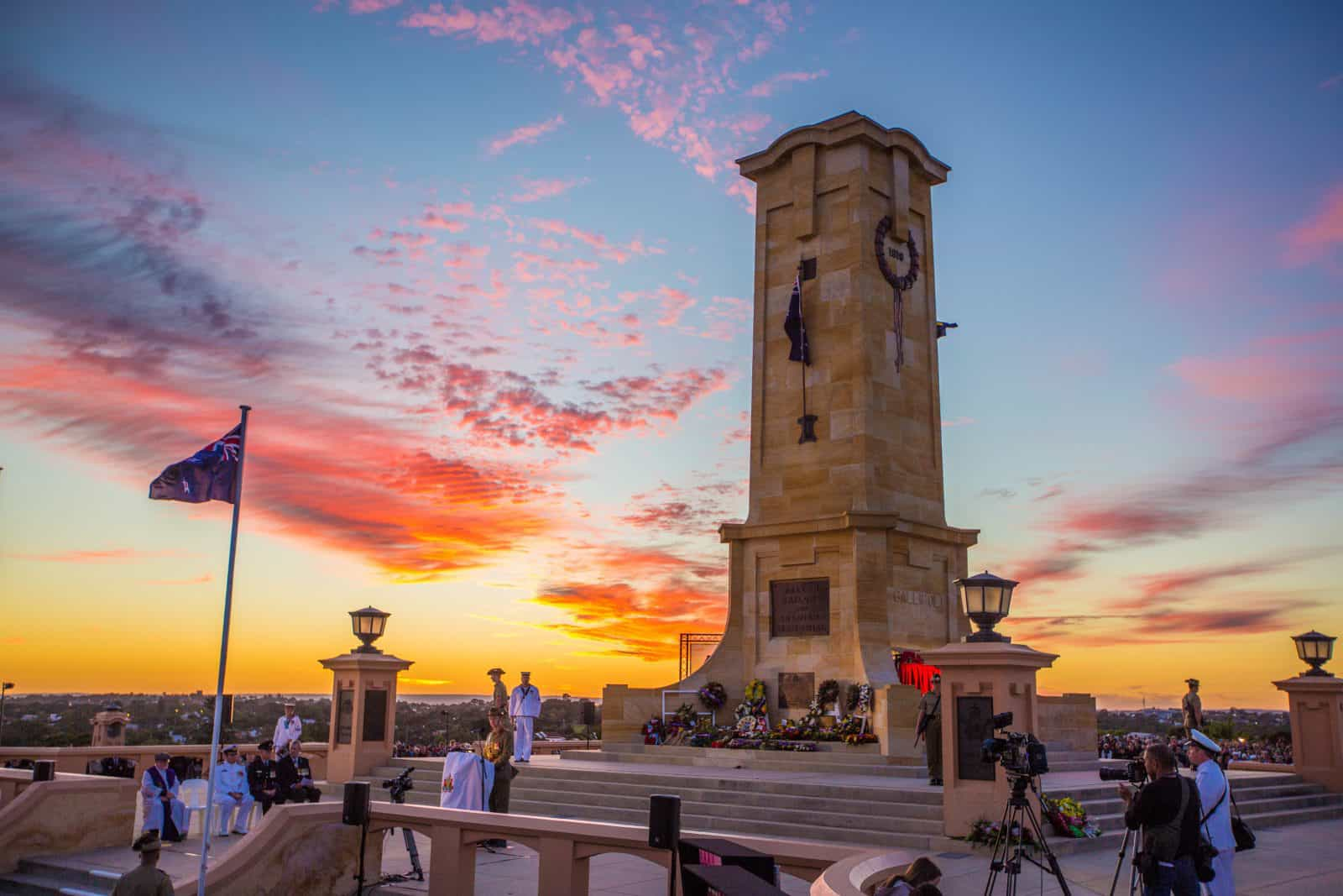 ANZAC Day, Fremantle, Western Australia