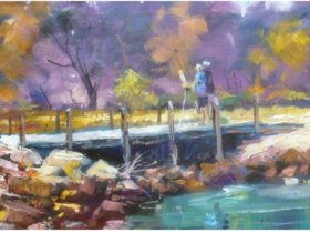 Mandurah Plein Air Artists - Outdoor Painting, Mandurah, Western Australia