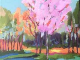 Painting Class: Expressive Landscape, Coolbellup, Western Australia