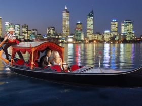 Gondolas on the Swan, Perth, Western Australia